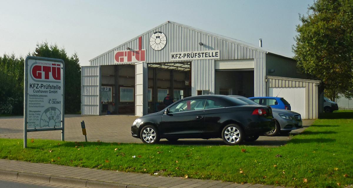 Hier wird Ihr Auto wieder in Schuss gebracht - die GTÜ Kfz-Prüfstelle in Cuxhaven